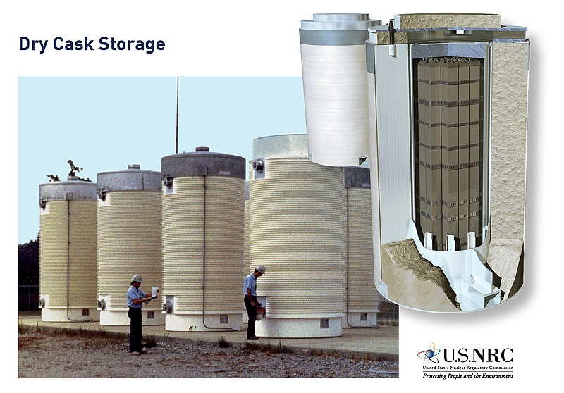 File:Dry Cask Storage of Spent Nuclear Fuel (36801710635).jpg